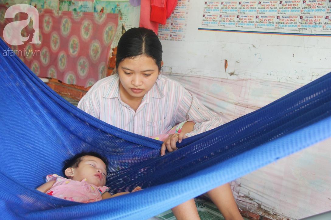 Bé gái 1 tuổi co giật liên tục đến mức méo miệng, người mẹ trẻ khóc cạn nước mắt cầu xin một cơ hội sống cho con - Ảnh 16.