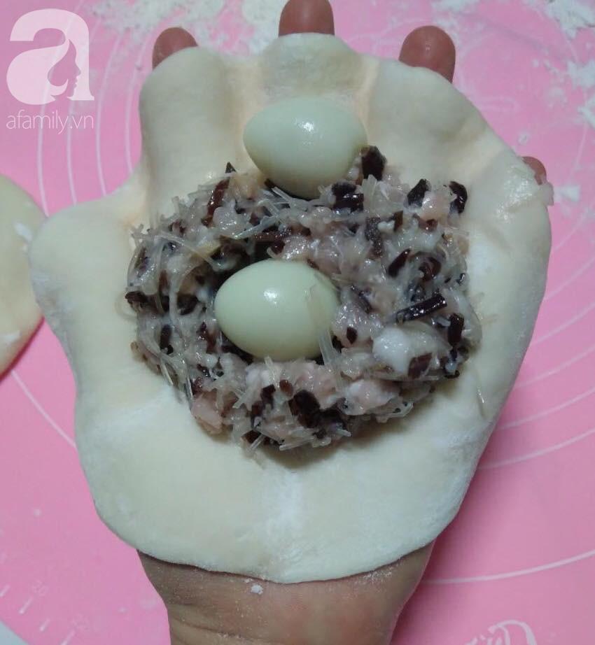 Công thức làm bánh bao Ngọc Trinh trắng mịn ngắm đã yêu - Ảnh 4.