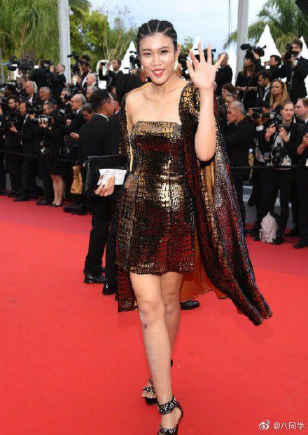 Bên cạnh Củng Lợi nhạt nhòa, Lưu Đào thanh nhã thì dàn sao Hoa ngữ vô danh tại Cannes 2019 lại làm trò khoe ngực lố lăng trên thảm đỏ - Ảnh 13.