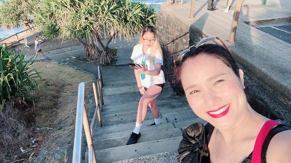 Chân dung cô con gái đang du học tại Úc của nữ MC Cát Tường - Ảnh 8.