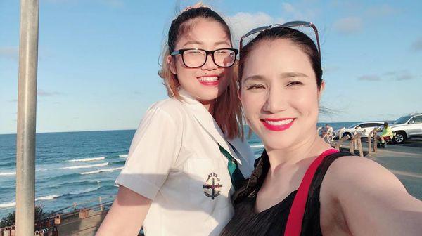 Chân dung cô con gái đang du học tại Úc của nữ MC Cát Tường - Ảnh 5.