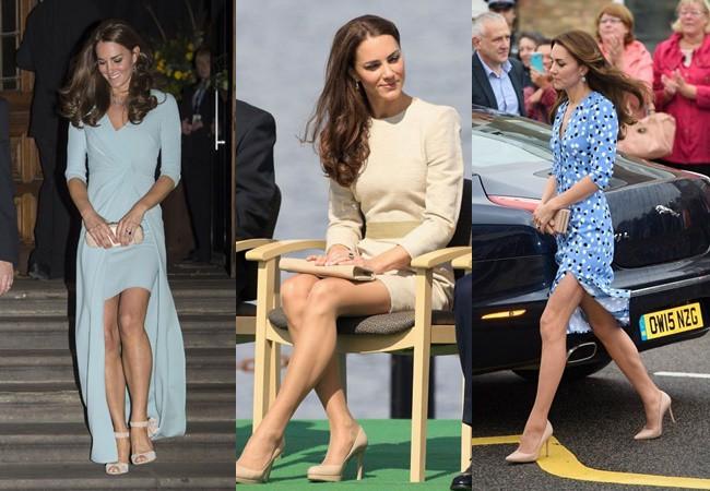 Những khoảnh khắc cho thấy hóa ra Công nương Kate đã nhiều lần khoe khéo đôi chân nuột nà không tỳ vết của mình, được em chồng Harry khen ngợi là vũ khí chết người - Ảnh 4.