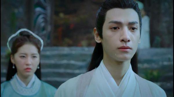 """Khi nam thần Hoa ngữ khóc đến """"quên trời quên đất"""": Đặng Luân khóc thành mắt hai mí, Hoàng Cảnh Du rơi cả nước miếng - Ảnh 1."""