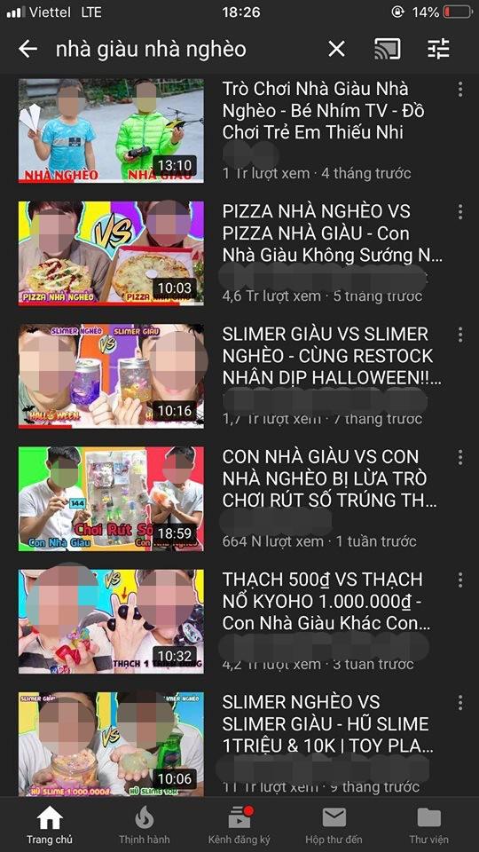 Xây dựng nội dung phản cảm phân biệt giàu - nghèo, loạt video triệu views của kênh Youtube kids bị lên án - Ảnh 4.
