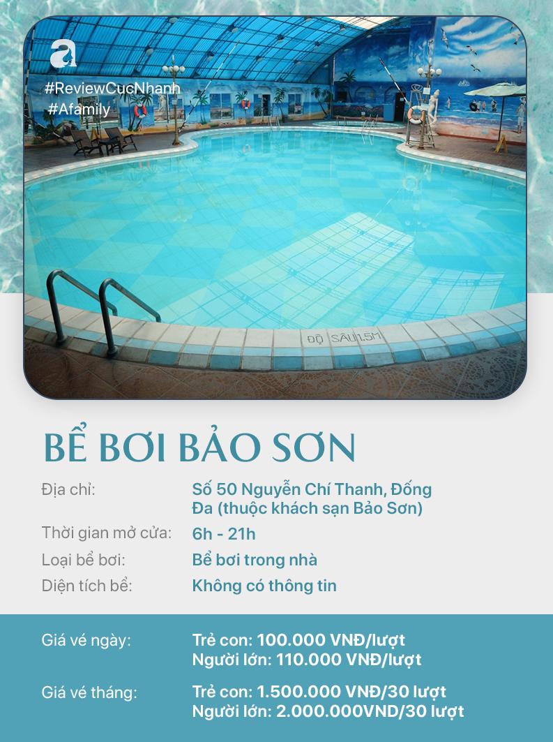 Hè đến rồi, cùng review nhanh các bể bơi ở Hà Nội để chọn chỗ bơi cho con nào  - Ảnh 10.