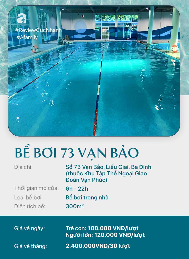 Hè đến rồi, cùng review nhanh các bể bơi ở Hà Nội để chọn chỗ bơi cho con nào  - Ảnh 11.