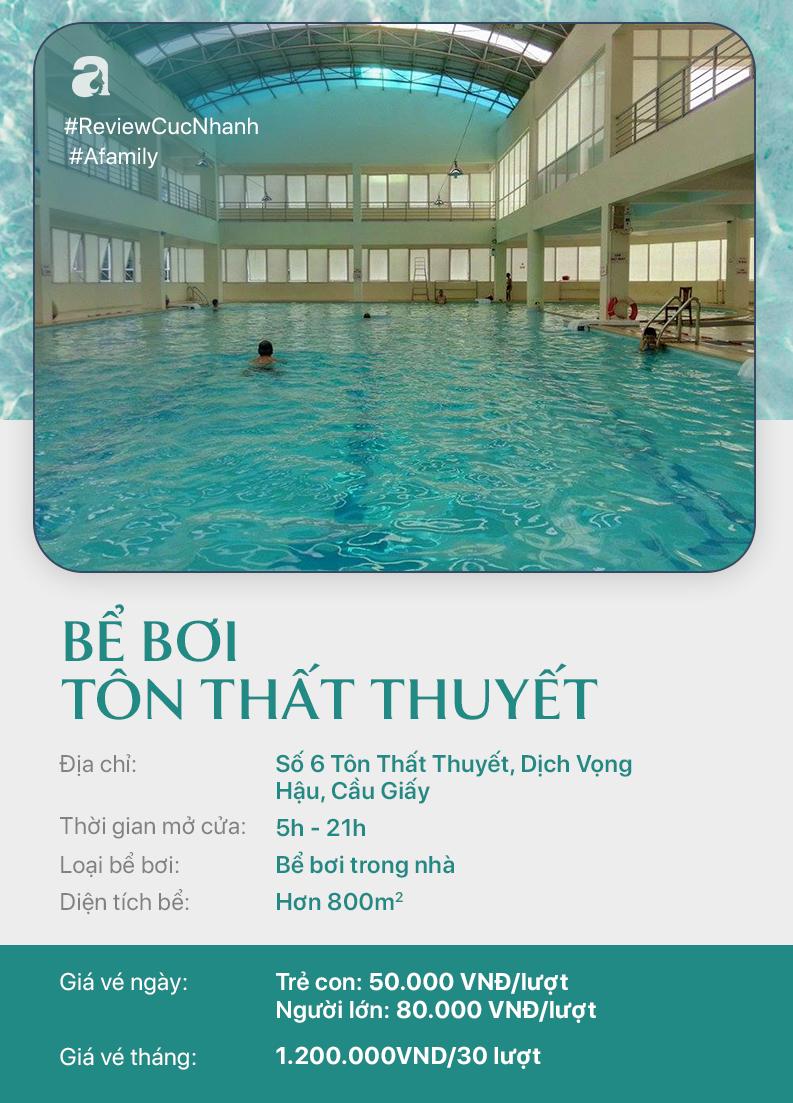Hè đến rồi, cùng review nhanh các bể bơi ở Hà Nội để chọn chỗ bơi cho con nào  - Ảnh 4.