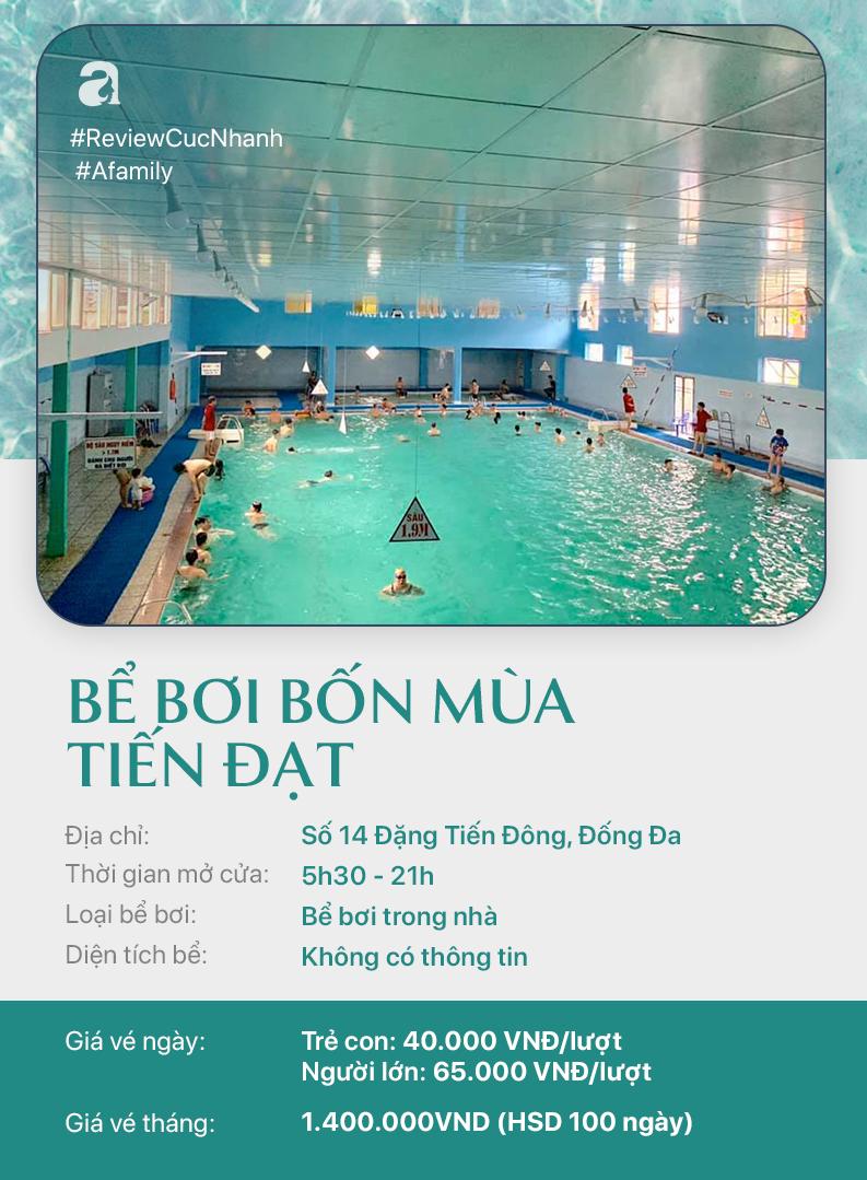 Hè đến rồi, cùng review nhanh các bể bơi ở Hà Nội để chọn chỗ bơi cho con nào  - Ảnh 3.