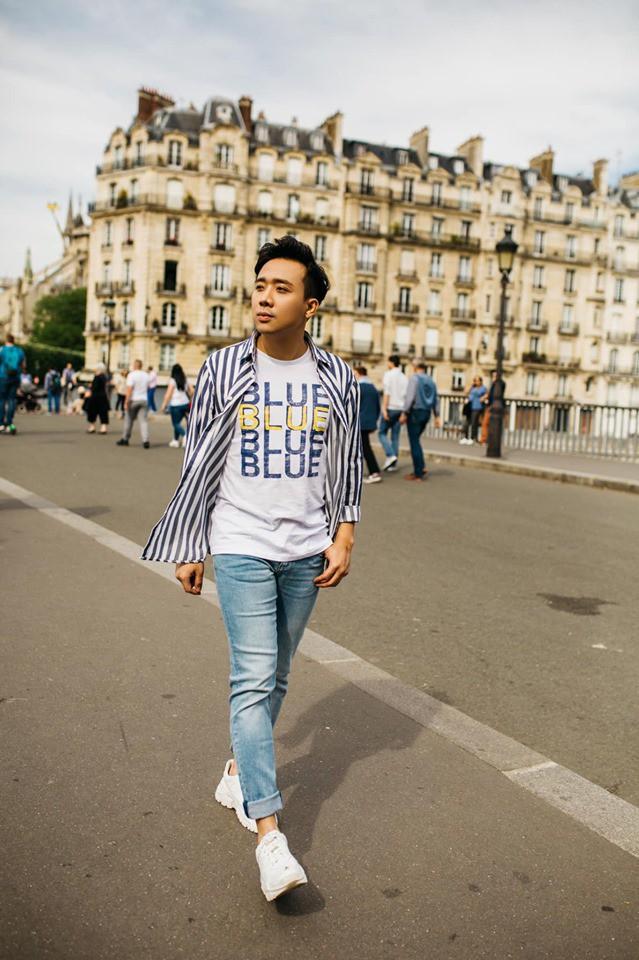 Ngắm trọn bộ ảnh đẹp như phim Hàn của Trấn Thành - Hari Won tại Paris hoa lệ - Ảnh 9.