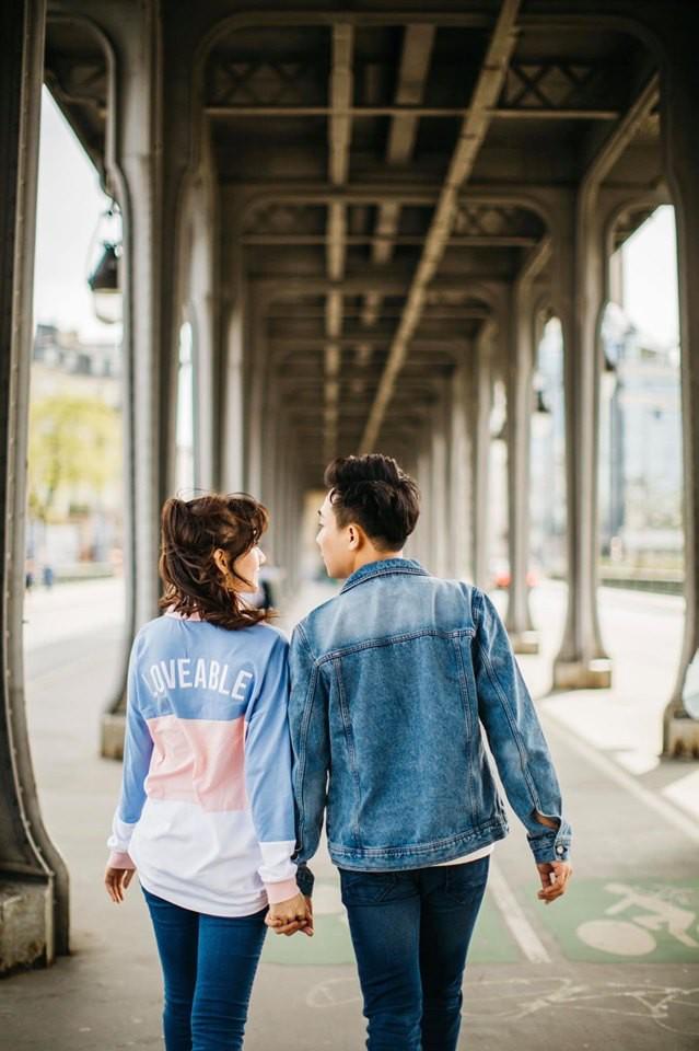 Ngắm trọn bộ ảnh đẹp như phim Hàn của Trấn Thành - Hari Won tại Paris hoa lệ - Ảnh 2.