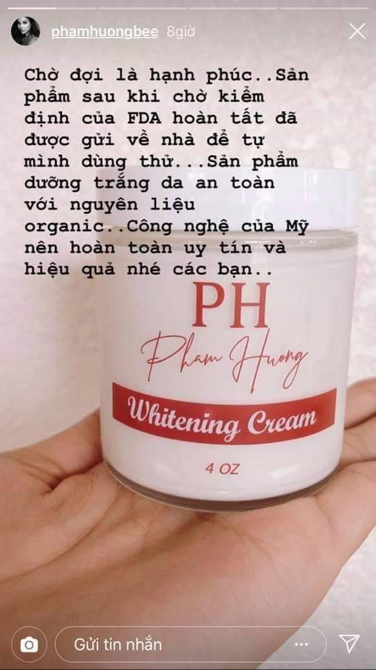 Phạm Hương khoe hình ảnh lọ kem mang tên mình, rục rịch kinh doanh nhưng lại bị vạch trần loạt chi tiết khó hiểu - Ảnh 2.