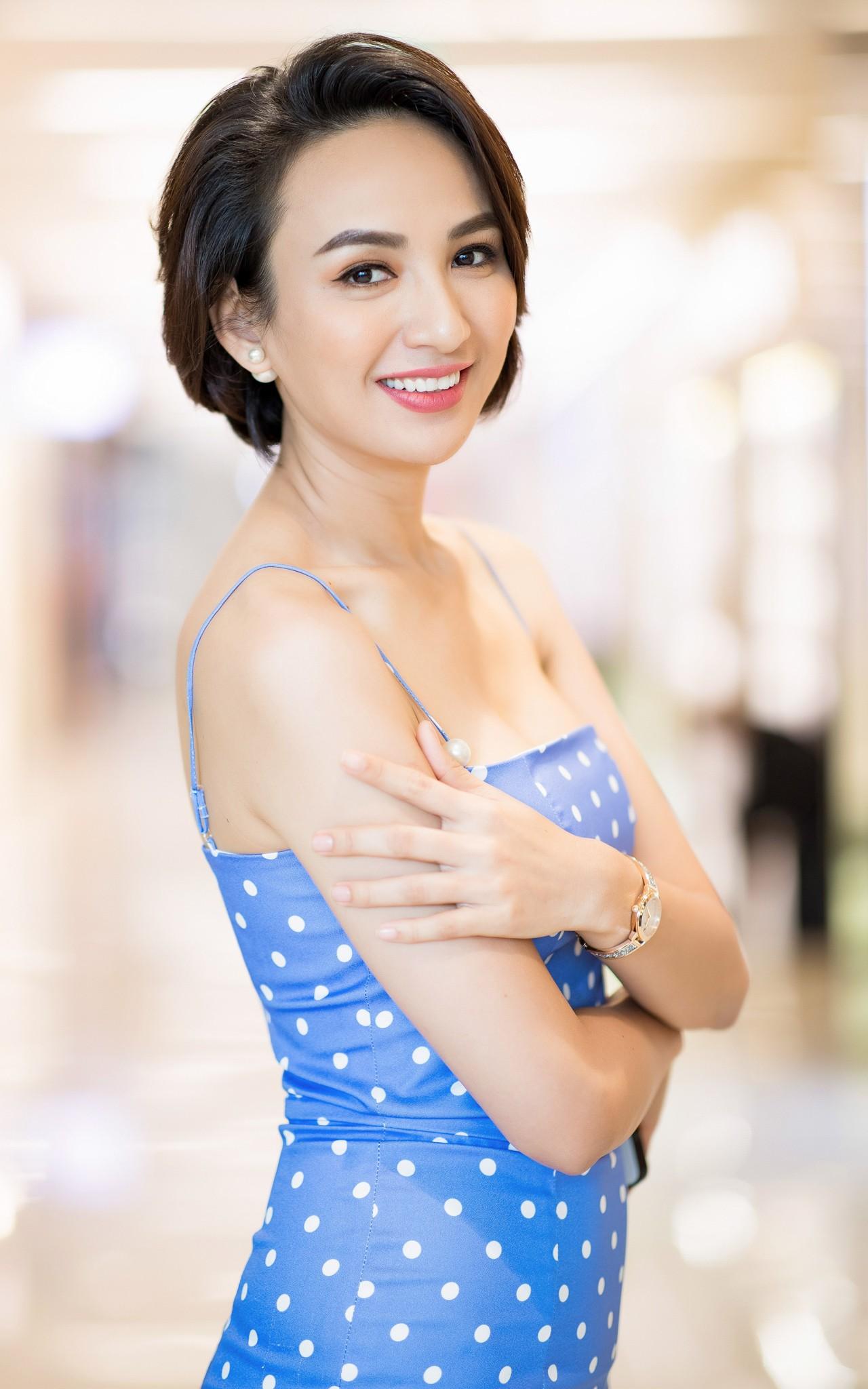 Hoa hậu Ngọc Diễm: Dùng bé gái 13 tuổi đóng cảnh nóng là không phù hợp, không nhân văn - Ảnh 1.
