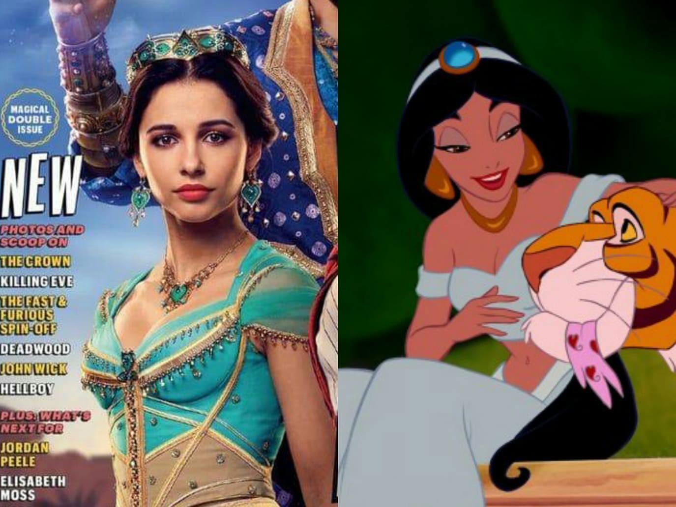 Trước khi nhập vai công chúa Jasmine trong Aladdin, Naomi Scott đã làm gì để cải thiện vóc dáng? - Ảnh 1.