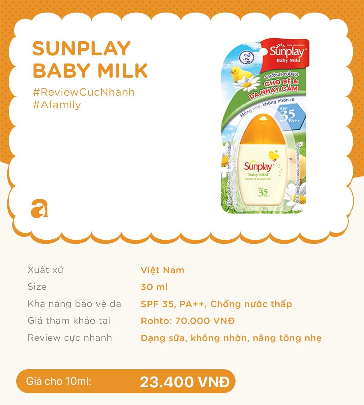 Review nhanh 10 lọ kem chống nắng dành cho trẻ em giá từ 70k đến 700k  - Ảnh 2.