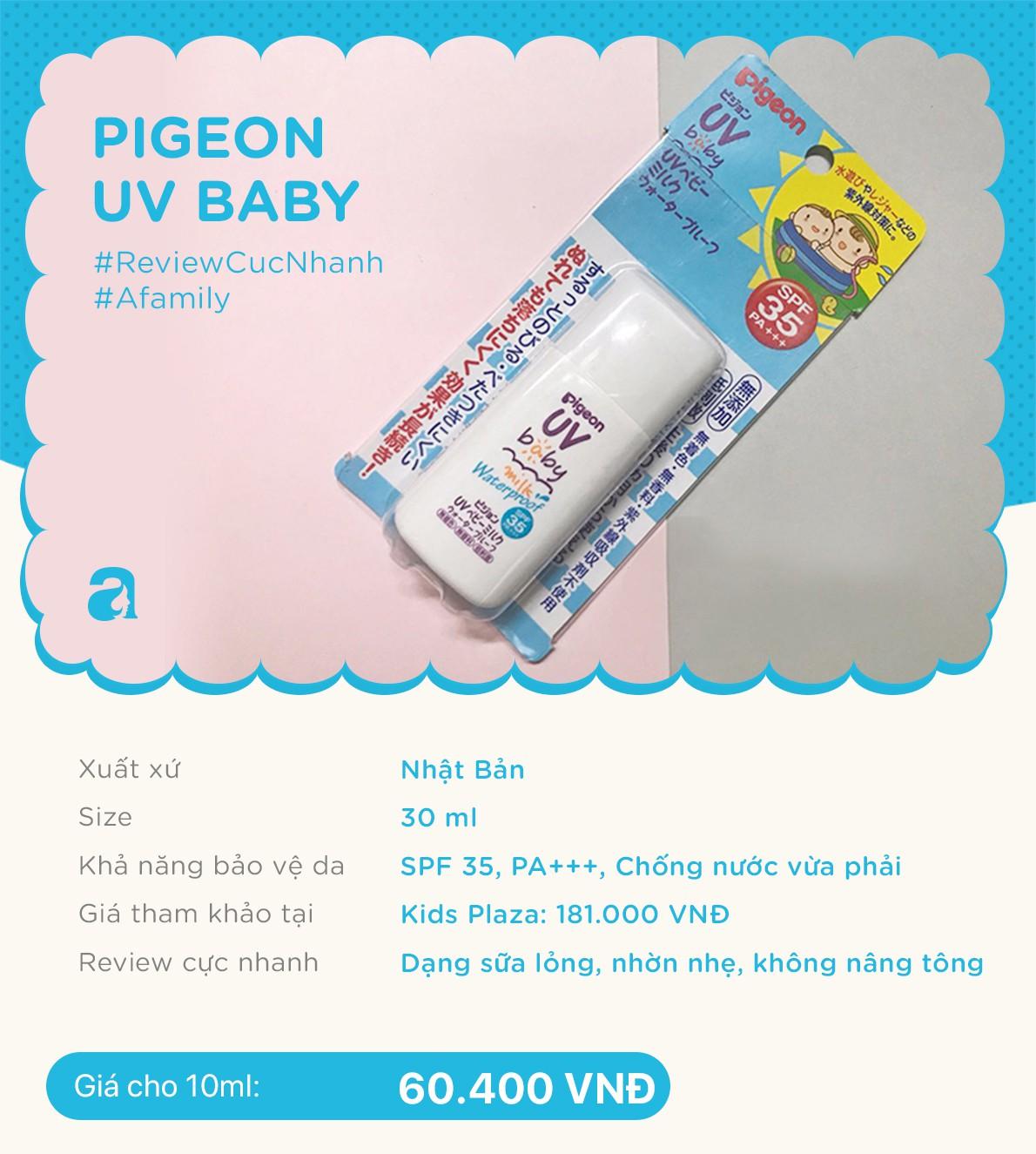 Review nhanh 10 lọ kem chống nắng dành cho trẻ em giá từ 70k đến 700k  - Ảnh 5.