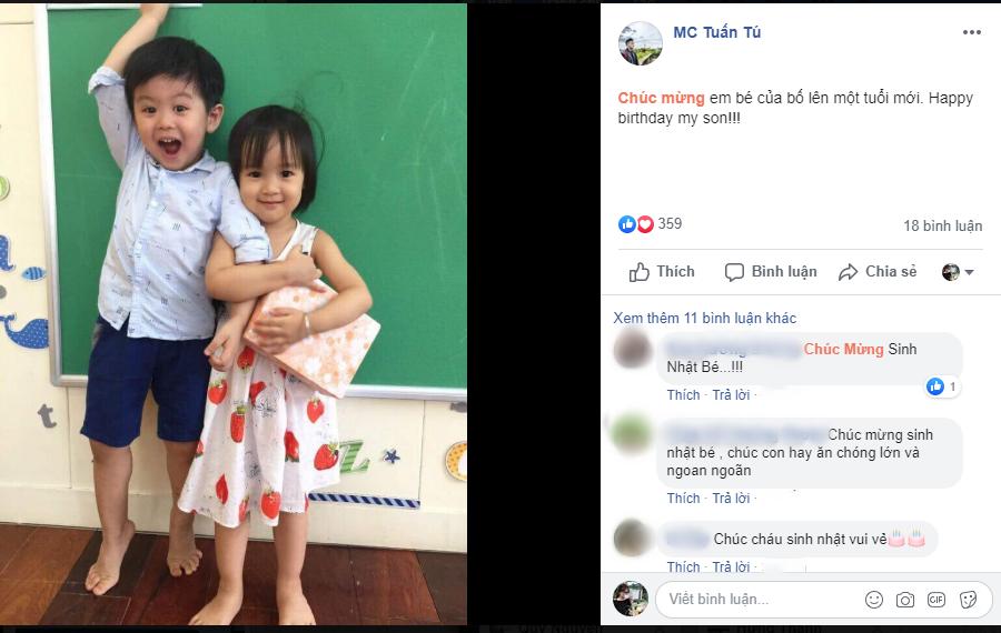 Không kém trên phim, MC Tuấn Tú Về nhà đi con cũng gây sốt bởi hình ảnh ông bố siêu dễ thương ngoài đời thực - Ảnh 3.