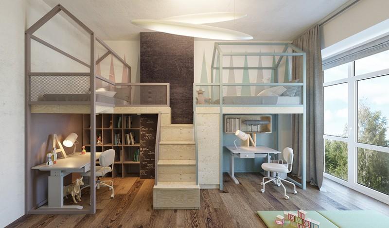 Ấn tượng với cách thiết kế phòng ngủ độc đáo cho trẻ - Ảnh 5.