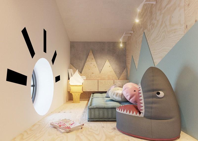 Ấn tượng với cách thiết kế phòng ngủ độc đáo cho trẻ - Ảnh 6.