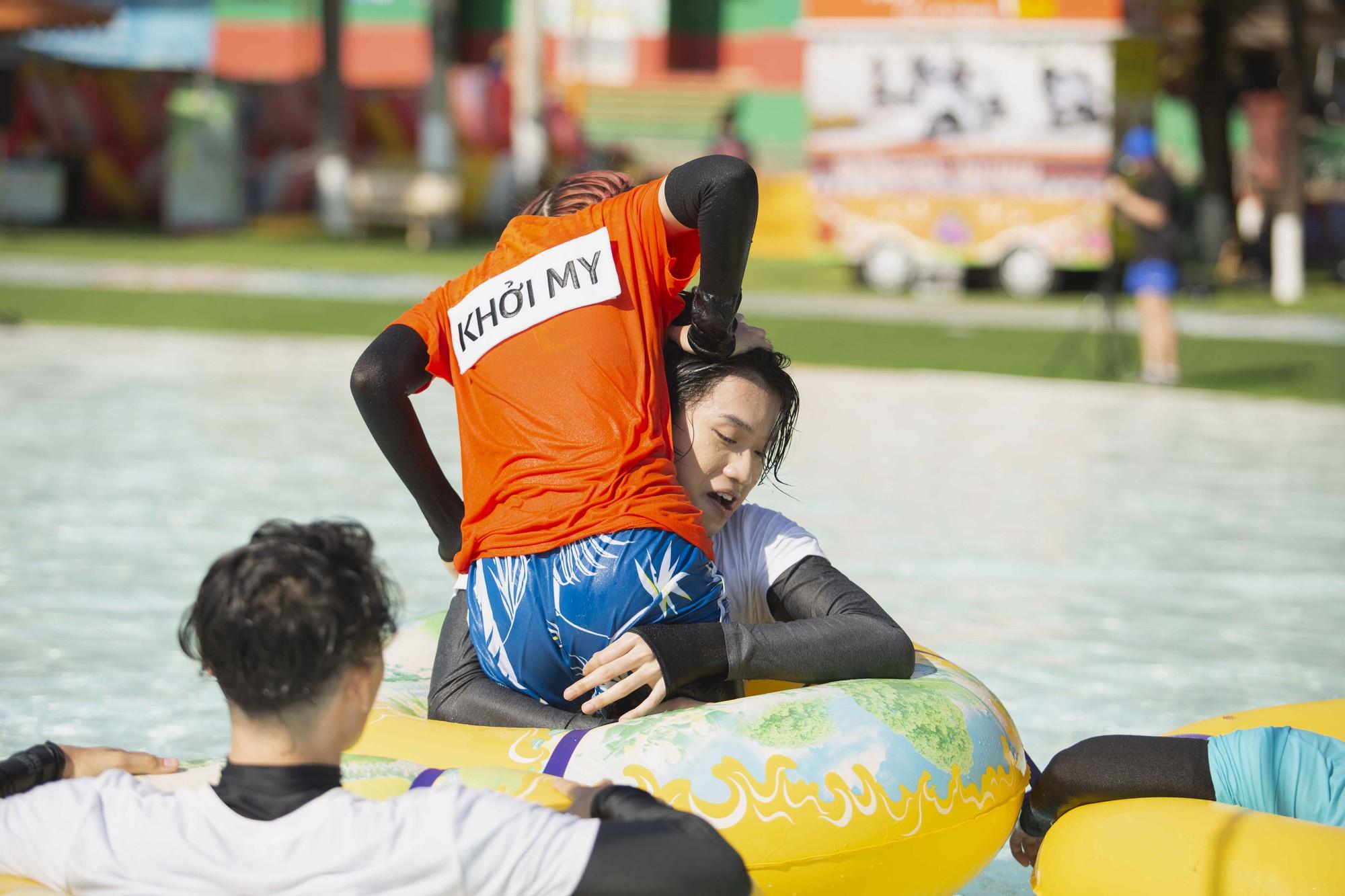 Running Man: Đáng thương như Quang Trung, bị Khởi My ức hiếp chỉ biết kêu gào với âm vực của cá heo  - Ảnh 5.