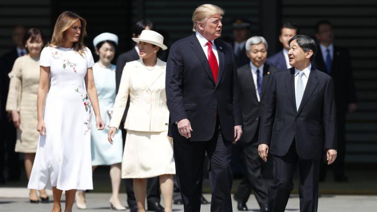 Vợ chồng Tổng thống Trump gặp tân Hoàng đế Nhật Bản, Hoàng hậu Masako khiến nhiều người kinh ngạc khi xuất hiện với hình ảnh hoàn hảo hơn mong đợi - Ảnh 4.