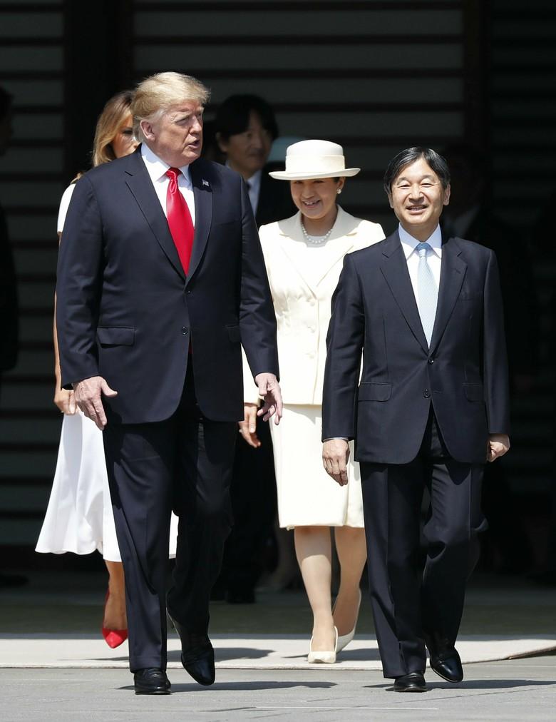 Vợ chồng Tổng thống Trump gặp tân Hoàng đế Nhật Bản, Hoàng hậu Masako khiến nhiều người kinh ngạc khi xuất hiện với hình ảnh hoàn hảo hơn mong đợi - Ảnh 5.