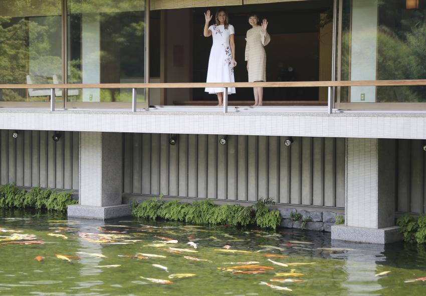 Không phải Hoàng hậu Masako, đây mới là người phụ nữ quyền lực được truyền thông và dân chúng ca ngợi khi tiếp đón Đệ nhất phu nhân Mỹ tới Nhật Bản - Ảnh 6.