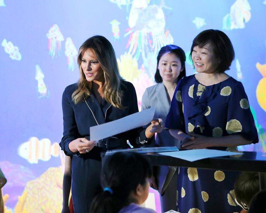 Không phải Hoàng hậu Masako, đây mới là người phụ nữ quyền lực được truyền thông và dân chúng ca ngợi khi tiếp đón Đệ nhất phu nhân Mỹ tới Nhật Bản - Ảnh 3.