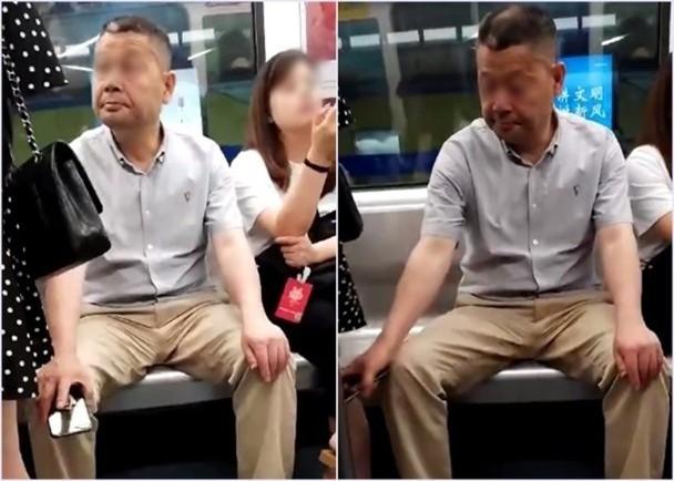 Giả vờ cầm điện thoại để dưới chân, người đàn ông không ngờ bị vạch trần hành động quay lén biến thái đáng lên án - Ảnh 3.