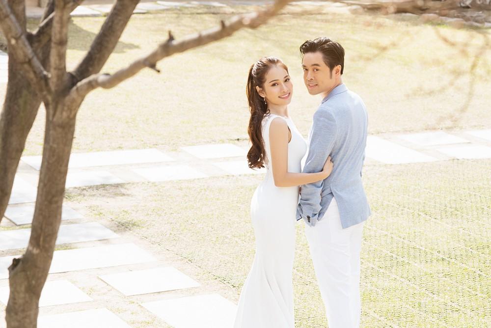 Ảnh cưới đẹp như phim chụp tại Hàn Quốc của Dương Khắc Linh và vợ trẻ kém 13 tuổi - Ảnh 7.