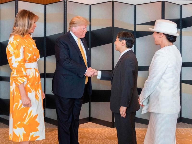 Vợ chồng Tổng thống Trump kết thúc chuyến thăm tại Nhật, Hoàng hậu Masako tiếp tục lặp lại thói quen khó bỏ nhưng được công chúng ca ngợi hết lời - Ảnh 1.
