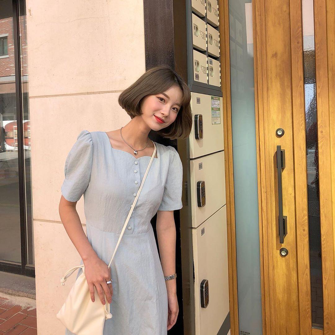Nô nức diện váy thô mùa hè cho mát, muốn mặc đẹp hãy tham khảo 15 bộ đồ từ street style Châu Á này - Ảnh 8.
