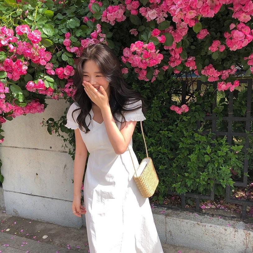 Nô nức diện váy thô mùa hè cho mát, muốn mặc đẹp hãy tham khảo 15 bộ đồ từ street style Châu Á này - Ảnh 13.