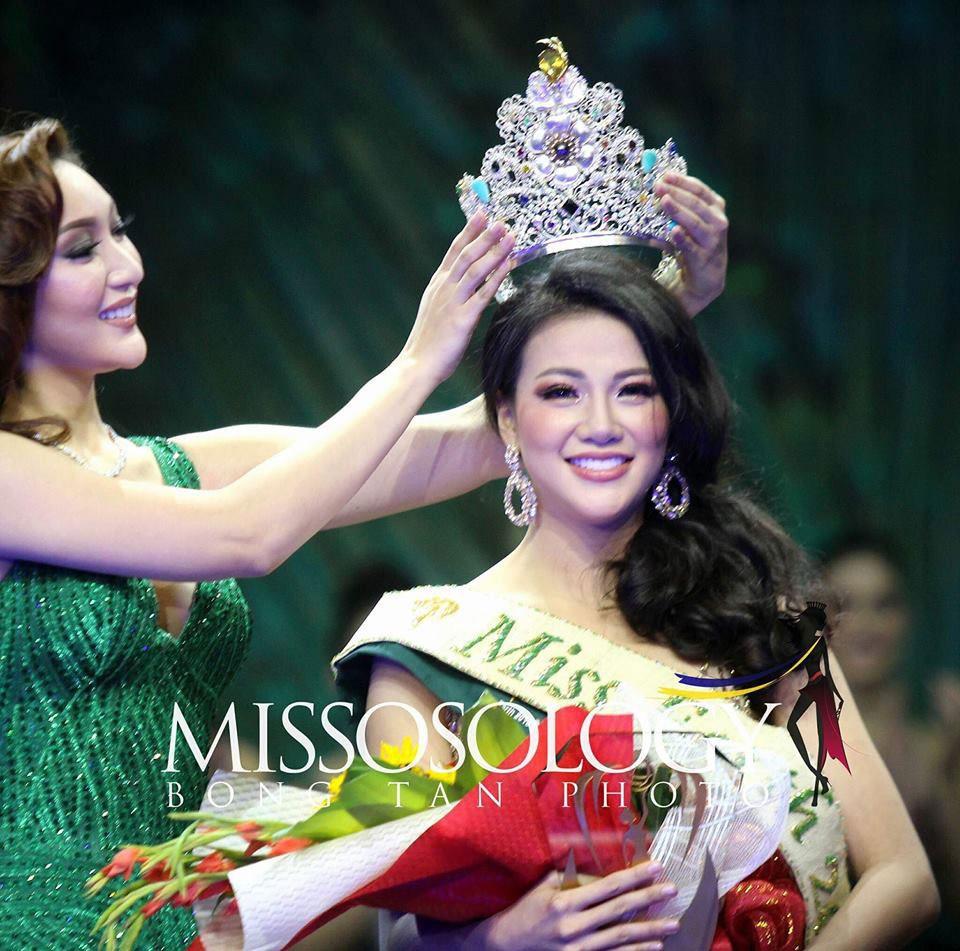 Mâu Thủy vạch trần sự thật chuyện mất suất thi Miss Earth, ám chỉ Phương Khánh chi bạo đi thi - Ảnh 1.