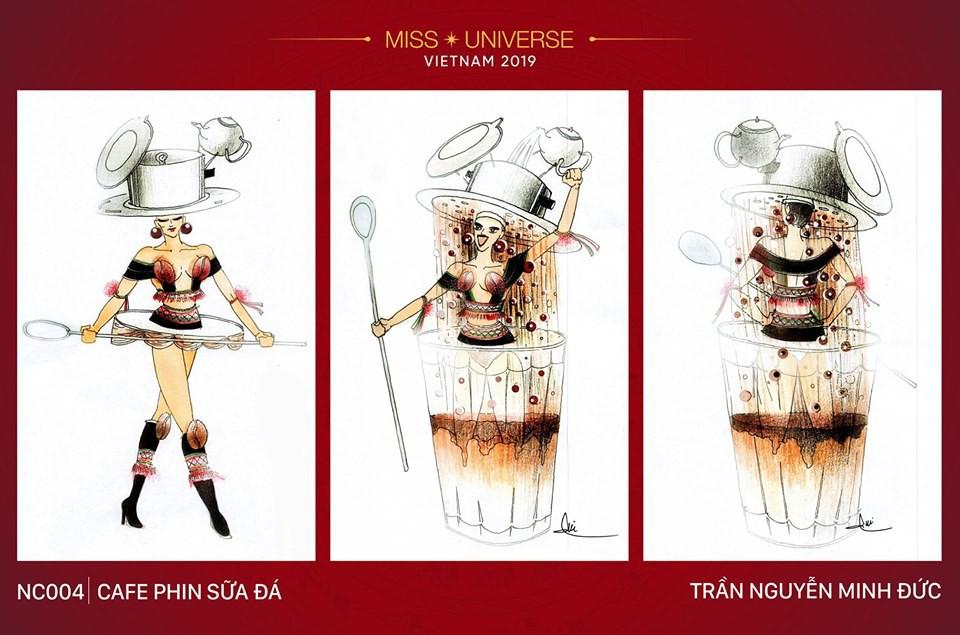 Hoàng Thùy không chỉ có trang phục Bàn Thờ, còn cả thiết kế chuồn chuồn, trâu hay cà phê phin để cân nhắc - Ảnh 15.