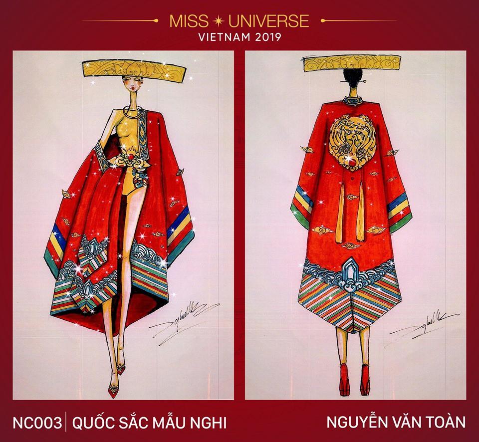 Hoàng Thùy không chỉ có trang phục Bàn Thờ, còn cả thiết kế chuồn chuồn, trâu hay cà phê phin để cân nhắc - Ảnh 16.