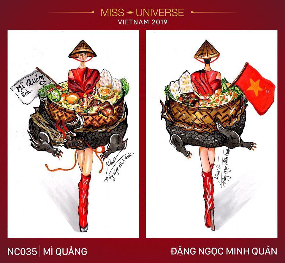 Hoàng Thùy không chỉ có trang phục Bàn Thờ, còn cả thiết kế chuồn chuồn, trâu hay cà phê phin để cân nhắc - Ảnh 21.