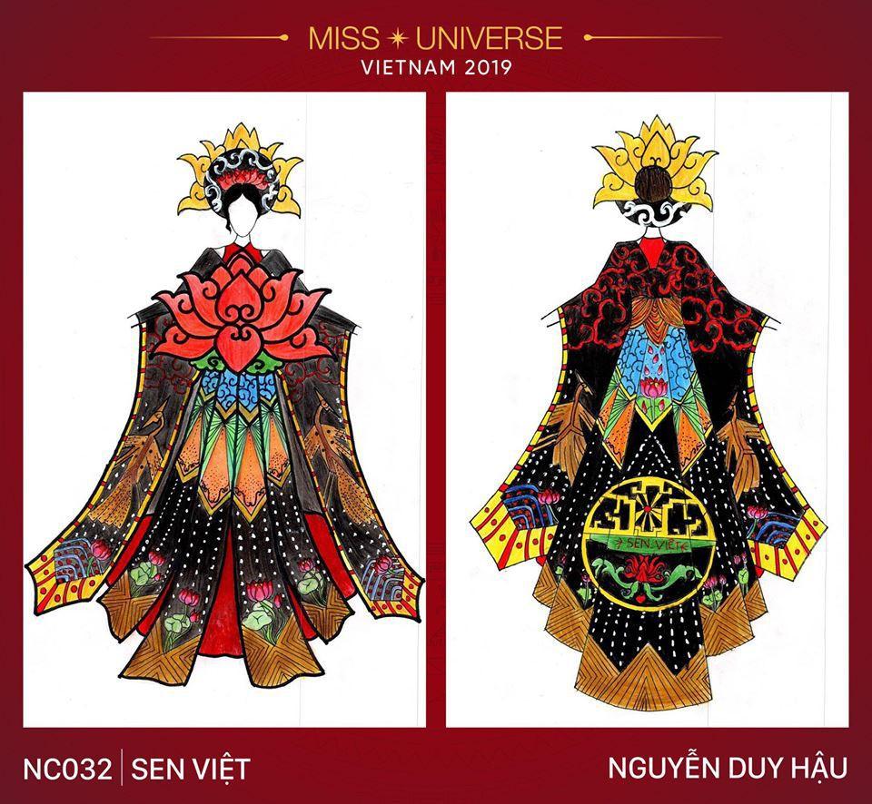 Hoàng Thùy không chỉ có trang phục Bàn Thờ, còn cả thiết kế chuồn chuồn, trâu hay cà phê phin để cân nhắc - Ảnh 3.