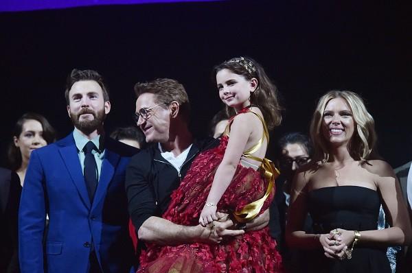 Vẻ đẹp tựa thiên thần của con gái Iron Man trong Avengers: Endgame khiến mạng xã hội phát cuồng - Ảnh 1.