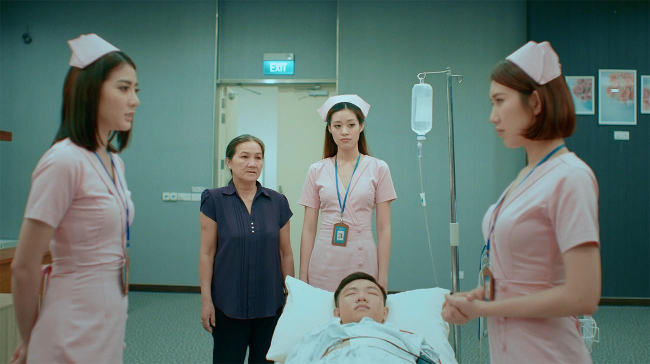 Thúy Ngân đau đầu vì đụng độ Mr. Cần trô Xuân Nghị trong phim về bệnh viện tình yêu  - Ảnh 7.