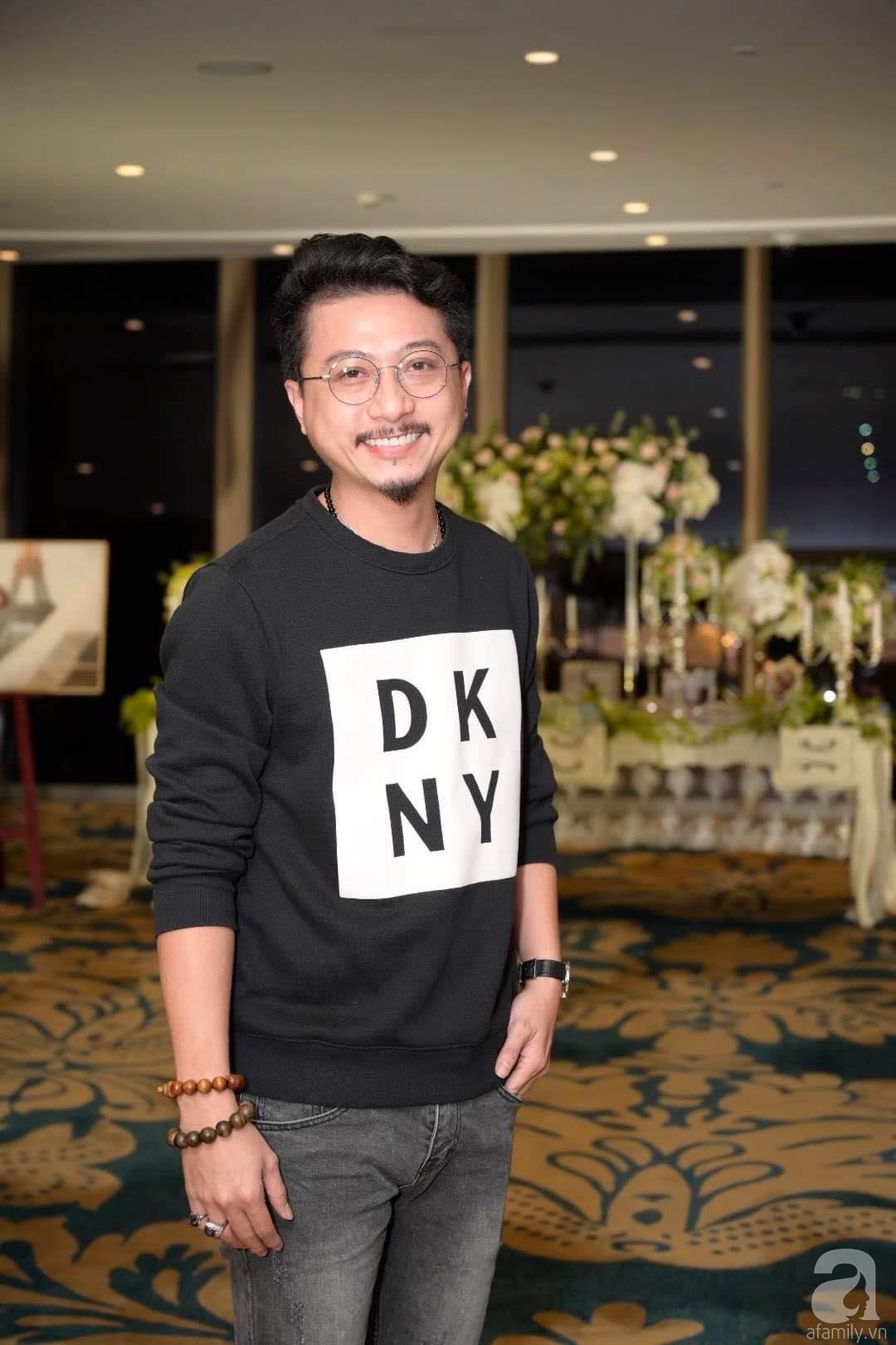 Trấn Thành - Hari Won, Ninh Dương Lan Ngọc cùng loạt sao Việt đến sự đám cưới đạo diễn Cua lại vợ bầu - Ảnh 11.