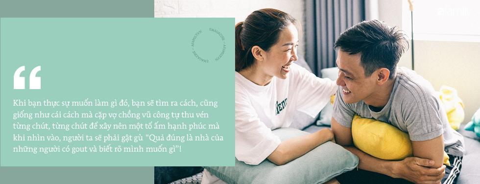 Căn hộ xanh bạc hà đẹp như mơ và chuyện cặp vợ chồng vũ công đi khắp Sài Gòn tự tay sắm sửa cho ngôi nhà hạnh phúc - Ảnh 16.
