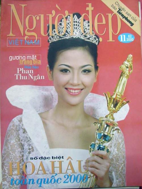 Hoa hậu Phan Thu Ngân: Cuộc đời như công chúa Lọ Lem, từ cô bé bán bánh canh ngoài chợ thành con dâu nhà Thứ trưởng, nhưng chỉ hai năm đã tan tành giấc mộng lầu hồng - Ảnh 1.