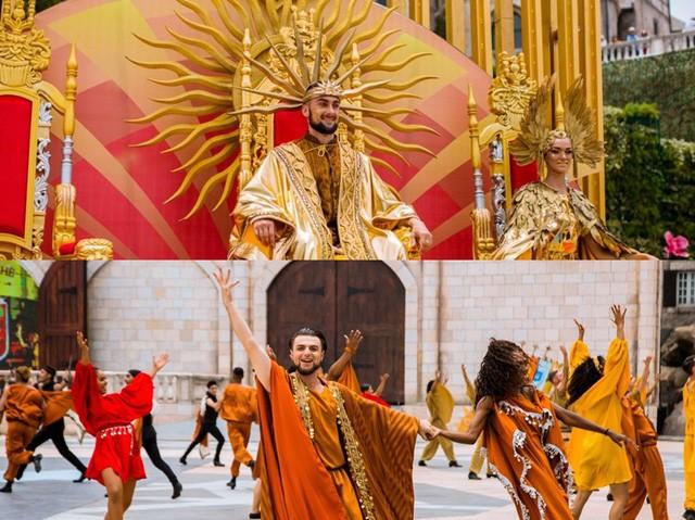 Vũ hội Ánh Dương - ấn tượng trong từng bộ trang phục cầu kỳ - Ảnh 4.