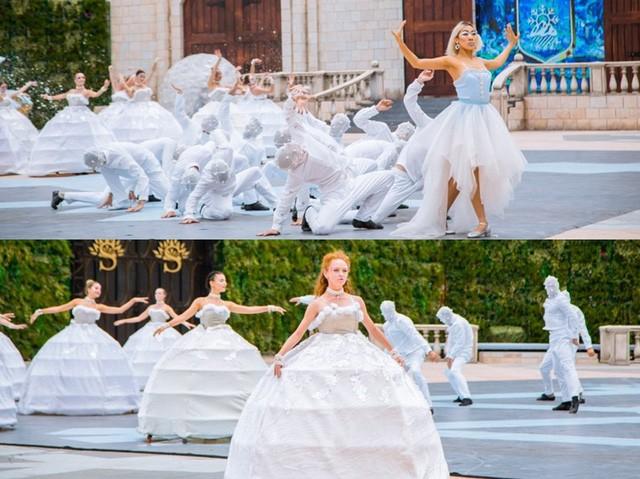 Vũ hội Ánh Dương - ấn tượng trong từng bộ trang phục cầu kỳ - Ảnh 6.