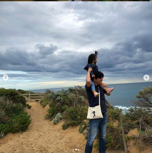 """""""Mỹ nhân ảnh nóng"""" Thang Duy bất ngờ chia sẻ hình ảnh hiếm hoi của con gái nhỏ, đôi chân dài thon thả cực giống mẹ  - Ảnh 3."""