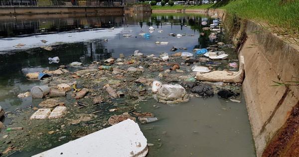 Đà Lạt: Hồ lắng gần hồ Xuân Hương bốc mùi hôi kinh khủng vì ngập rác thải, du khách kêu trời