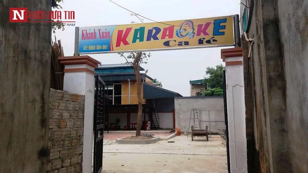 """Vợ tới phòng Karaoke đánh ghen khi chồng công an hát cùng """"tiếp viên"""" khiến 2 người bị thương - Ảnh 1."""
