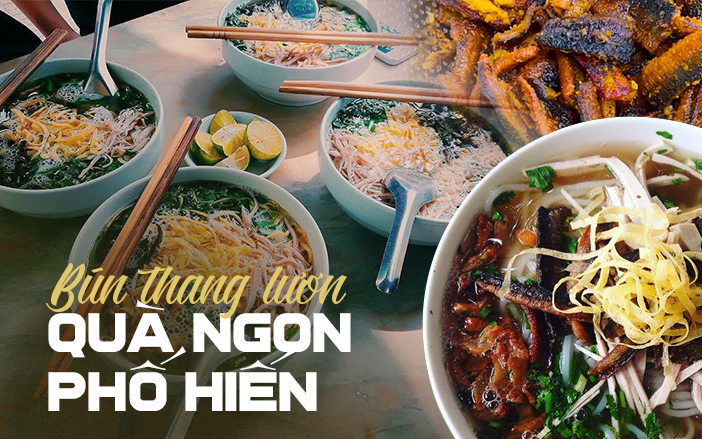 """Nếu đã chán bún thang Hà Nội, hãy thử đặc sản Hưng Yên """"bún thang lươn"""" Phố Hiến ngon nức tiếng này xem sao!"""