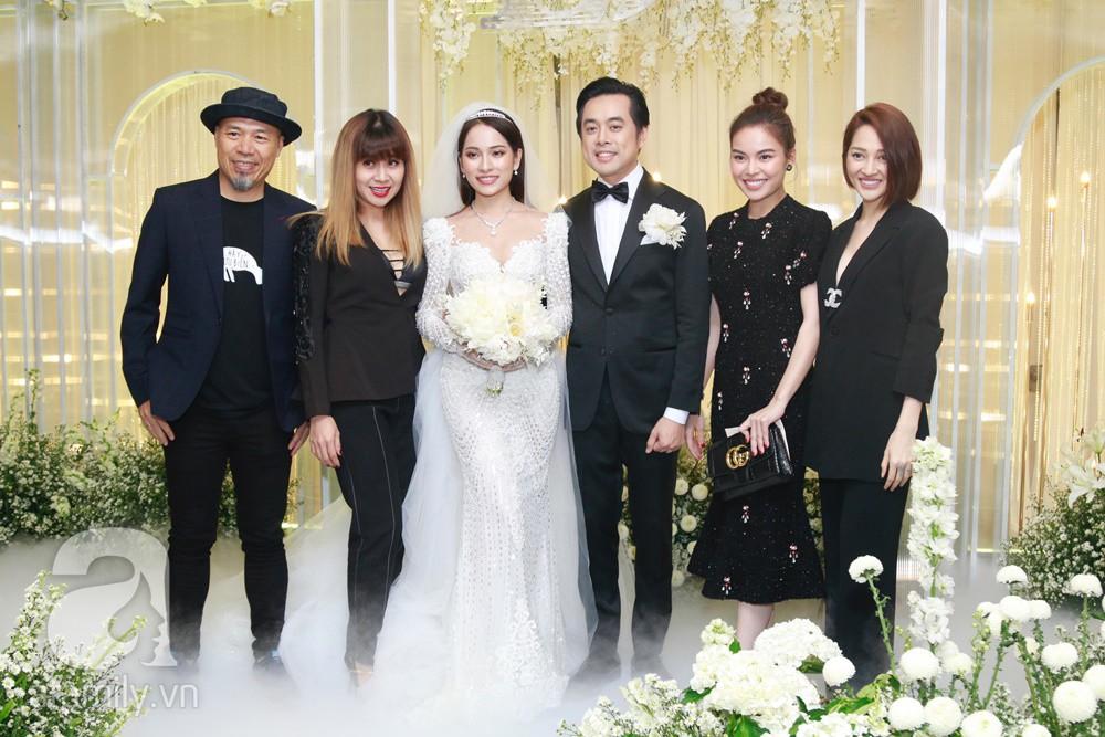Vợ chồng Thu Minh, ca sĩ Noo Phước Thịnh, Lê Hiếu, Thu Thủy và dàn sao khủng showbiz tụ hội về đám cưới Dương Khắc Linh - Sara Lưu - Ảnh 15.