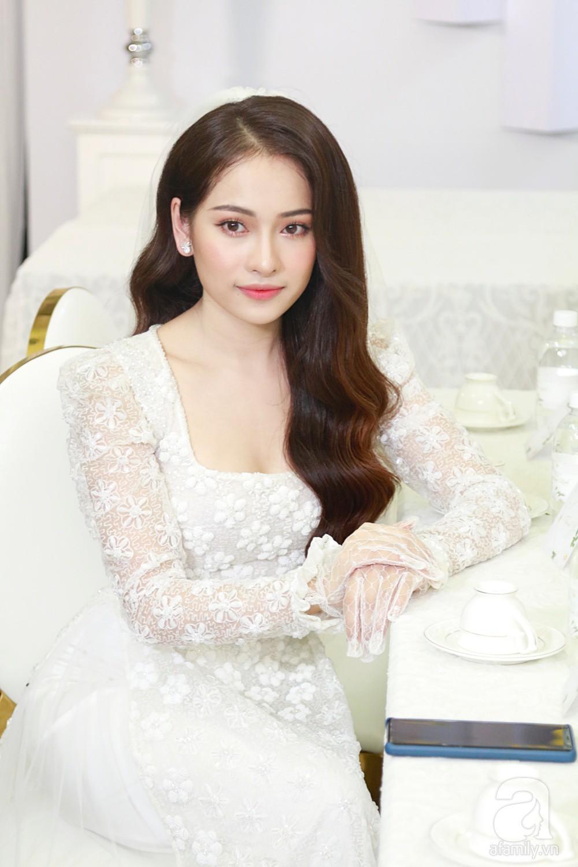 Đám cưới Dương Khắc Linh - Sara Lưu: Những hình ảnh đầu tiên của cô dâu trước giờ vu quy - Ảnh 5.